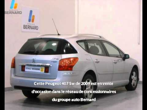 peugeot 407 sw occasion en vente valence 26 par renault valence youtube. Black Bedroom Furniture Sets. Home Design Ideas