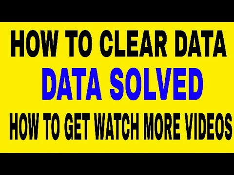 How Clear Data & Cache Google Play service - HOW TO DATA CLEAN TO MY PHONE-DATA CLEAR KAISE KARE