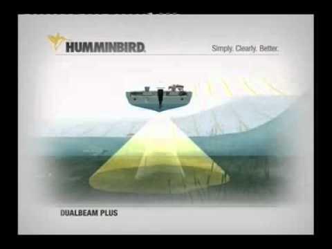 Fishfinder - Humminbird Dual Beam Sonar.mp4