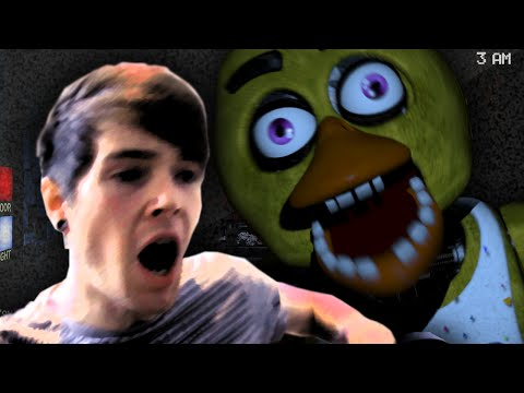 FELL OFF MY CHAIR! | Five Nights At Freddy's 2