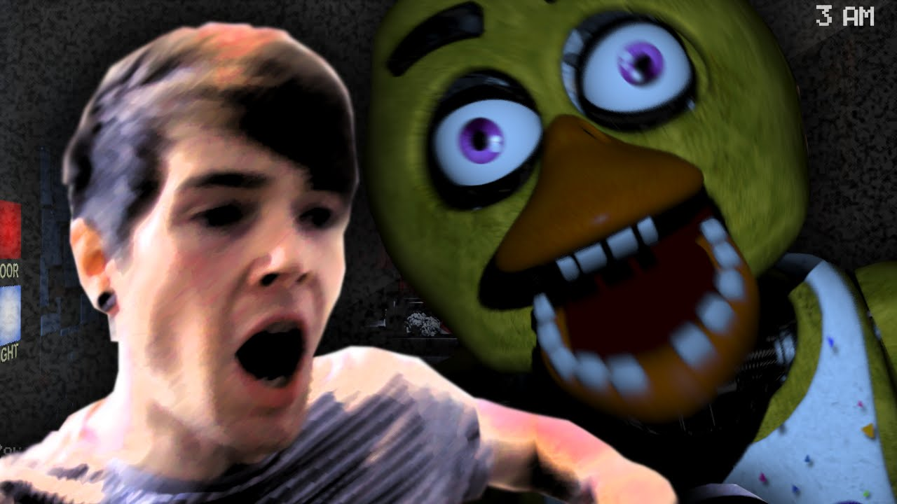 Fell Off My Chair Five Nights At Freddys 2
