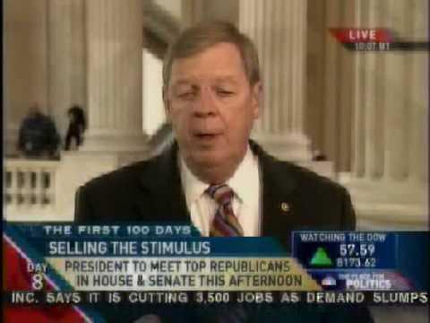 Senator Johnny Isakson on the Economic Stimulus Bill