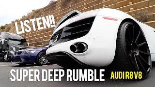 V8 Audi R8 Meisterschaft GTHAUS Exhaust