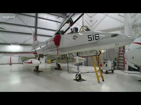 Historic fighter jet for sale