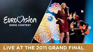 Anna Rossinelli - In Love For A While (Switzerland) Live 2011 Eurovision Song Contest
