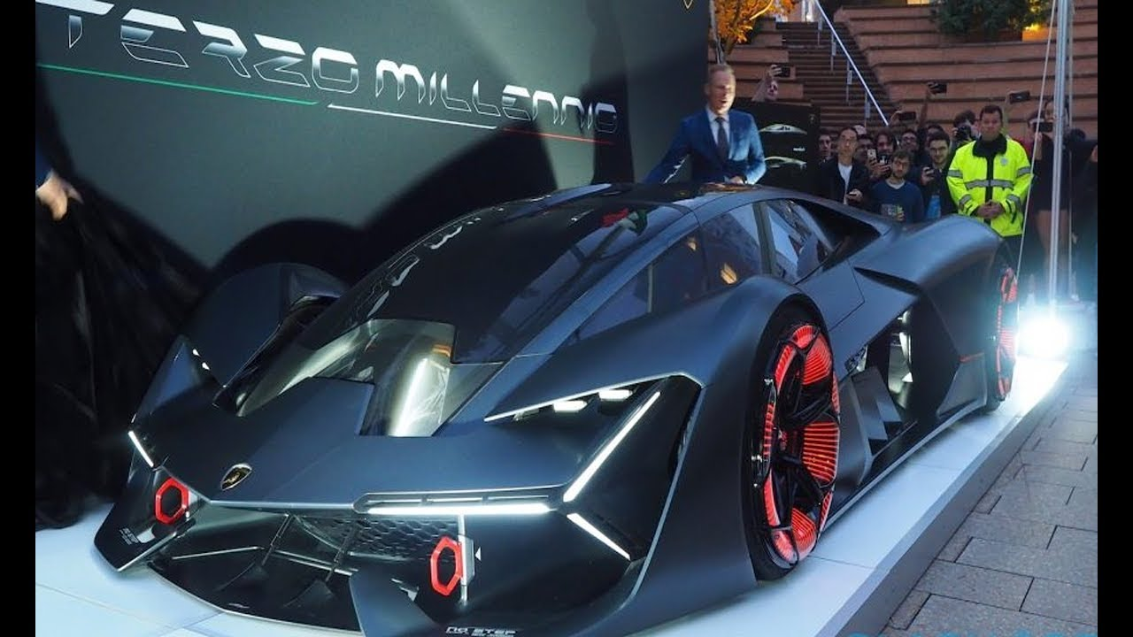 Amazing 2018 Lamborghini Terzo Millenio Concept Make Shocked Youtube