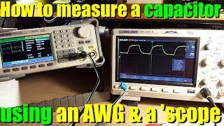 How to measure the value of a capacitor with an oscilloscope