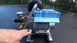Kranzle K1322TS Pressure Washer Modified & Reviewed | The Best!