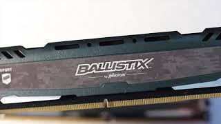 Ballistix Sport LT Gray 16GB DDR4 3000MHz Review
