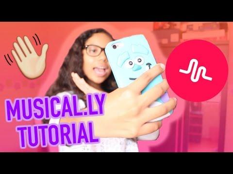 MUSICAL.LY || ¿Como los grabo? || TUTORIAL♡