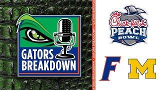 Gators Breakdown: Florida draws Michigan in the Chick-fil-A Peach Bowl