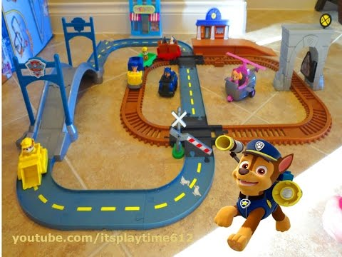 Thumbnail: PAW PATROL ADVENTURE BAY RAILWAY & SKYE'S ADVENTURE BAY TOWNSET | itsplaytime612