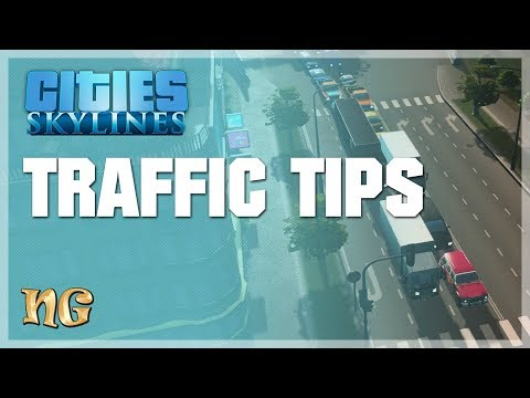 Cities: Skylines - How to fix traffic issues - Tips (2018)