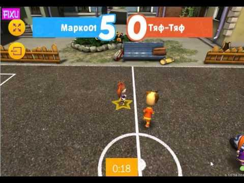 Барбоскины игра для детей Футбольный турнир Барбоскиных! (iPad Gameplay Video)