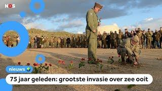Grote herdenking van D-day, een beslissende dag in de Tweede Wereldoorlog