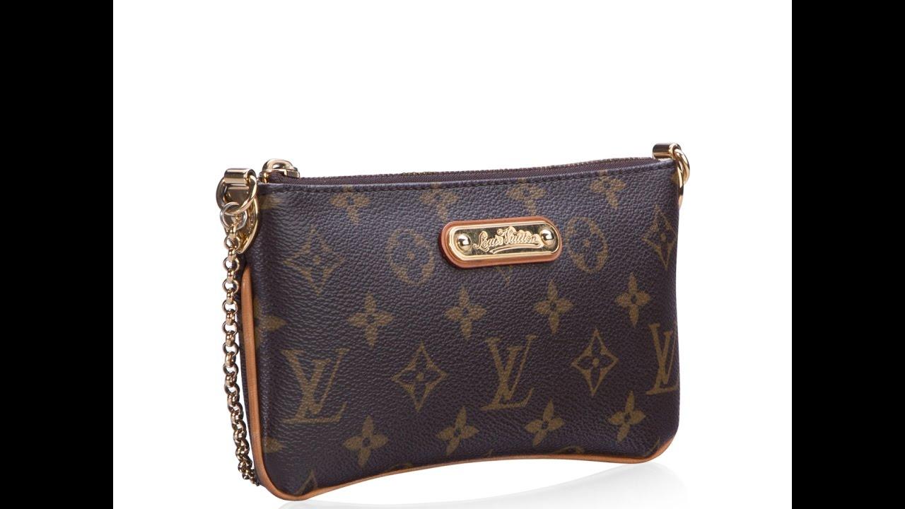 0c67619d3047 New Arrival  Louis Vuitton Milla Clutch - YouTube