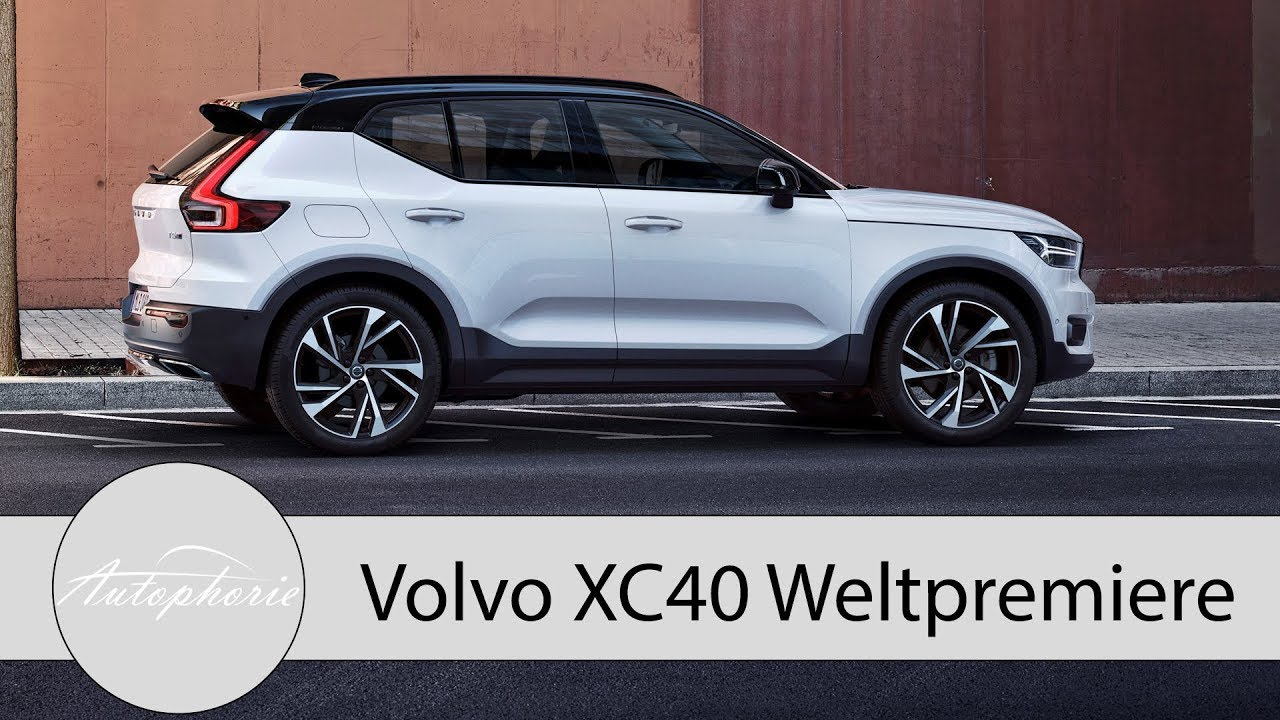 weltpremiere volvo xc40 das schwedische kompakt suv und. Black Bedroom Furniture Sets. Home Design Ideas