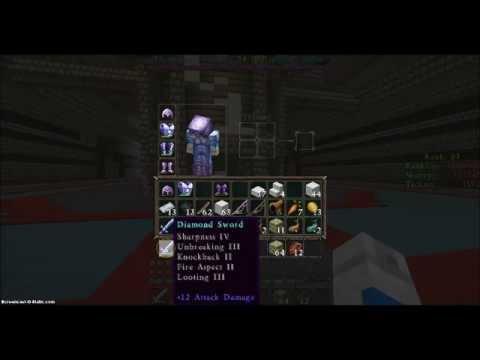 Minecraft Best sword enchant ever