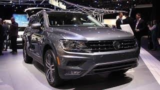 2019 Volkswagen Tiguan Redesign