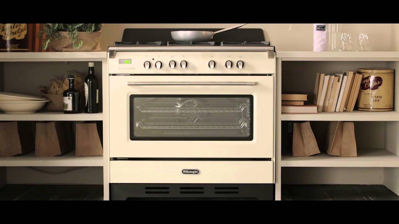 Cucine De\'Longhi MasterCook - Stile d\'ispirazione Vintage