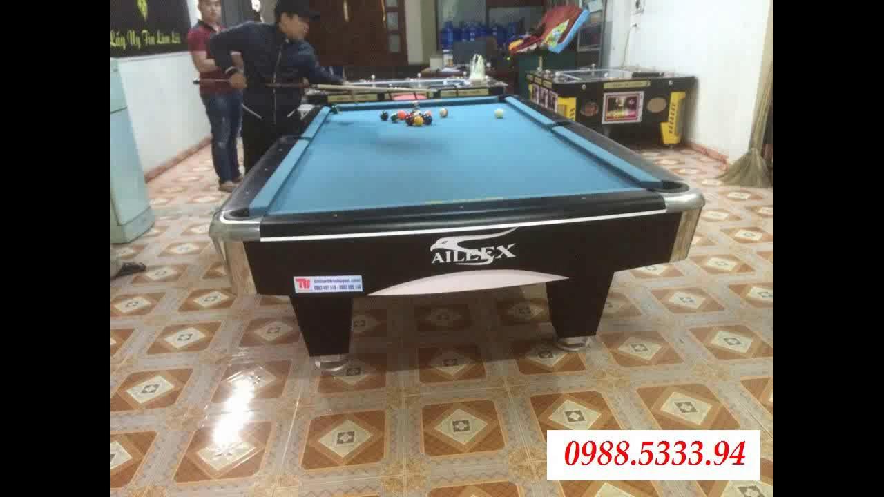 Thanh lý bàn bi a tại Nam Định, bán bàn bi a giá rẻ tại Nam Định