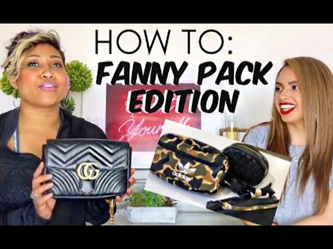 dd1fd241df6 HOW TO STYLE  THE BELT BAG  FANNY PACK  BUM BAG - YouTube