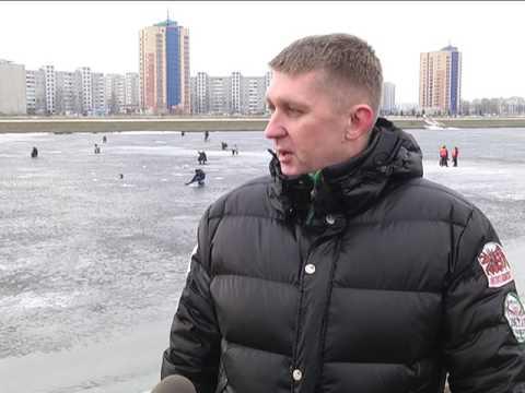 2017-02-23 г. Брест. Внимание, тонкий лед!  Новости на Буг-ТВ.