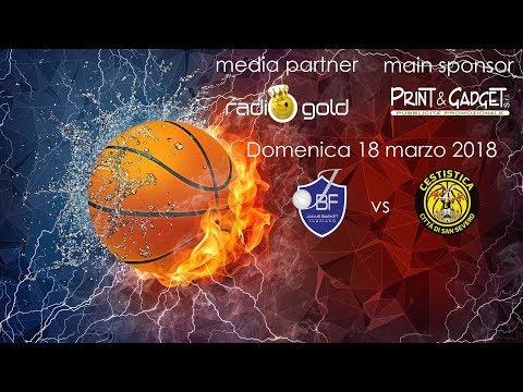 LNP Serie B 17/18 - Ristopro Fabriano vs San Severo (girone C)