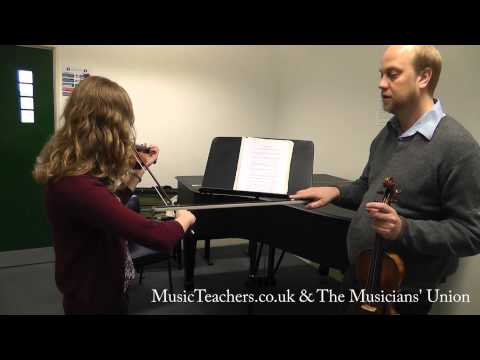 Violin Lesson: André Swanepoel: 1 Technical Exercises on Bowing
