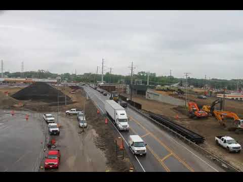 Rollins Road Grade Separation Time Lapse