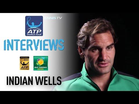 Federer Discusses Sock Challenge At Indian Wells 2017