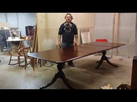 refinishing a thomasville cherry dining tableattimeless arts refinishing