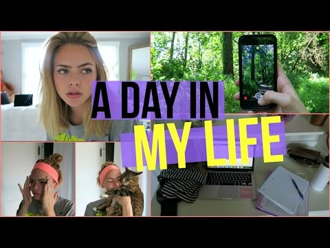 A DAY IN MY LIFE // online school | Summer Mckeen