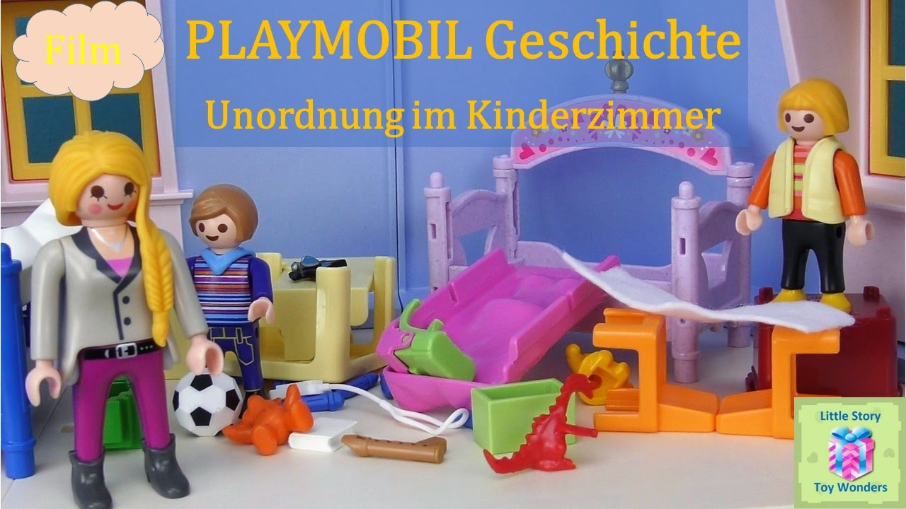 Playmobil film deutsch unordnung im kinderzimmer for Kinderzimmer playmobil