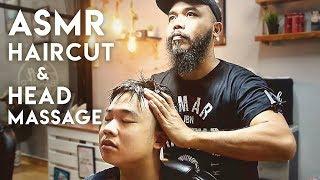 💈💆🏻♂️ ASMR Haircut & Head Massage - Deft Barber Ropes