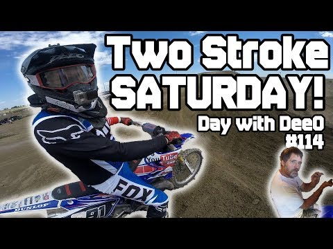TWO STROKE SATURDAY! 2003 YZ125 at IMI!