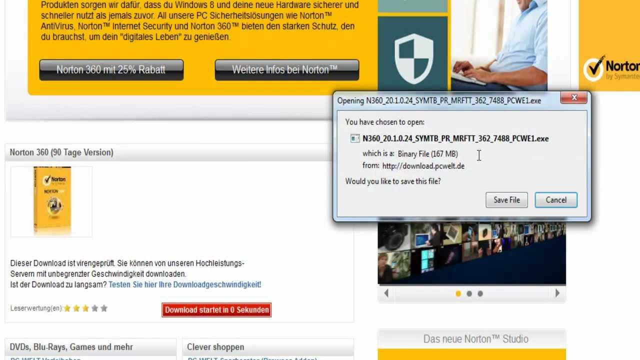 norton antivirus gratis per 90 giorni