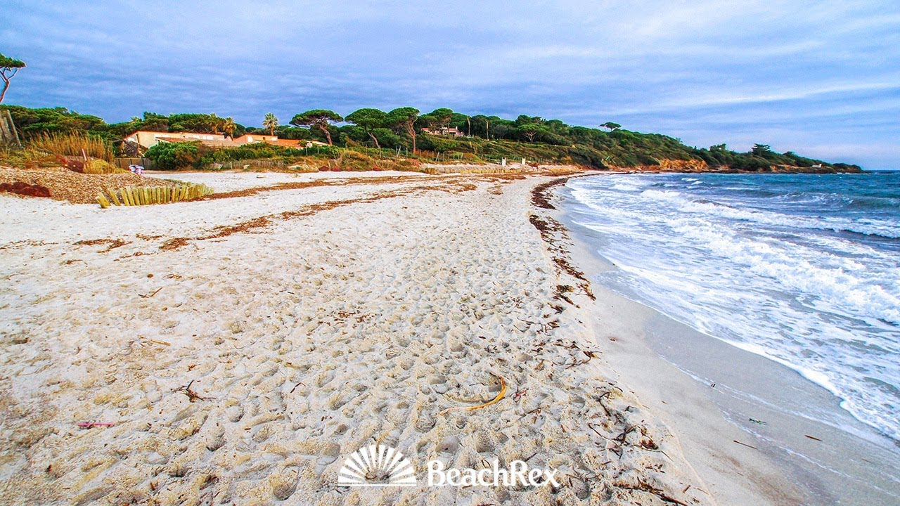 Beach Des Salins Saint Tropez France Youtube