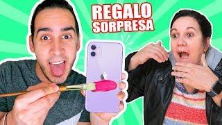 HICE UN IPHONE 11 PERSONALIZADO PARA MI MAMÁ ! Customizing IPhone11 | HaroldArtist