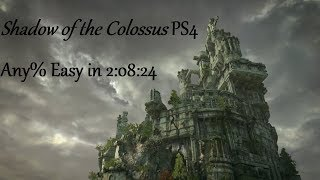 Shadow of the Colossus (2018) - Easy Mode Any% Speedrun in 2:08:24