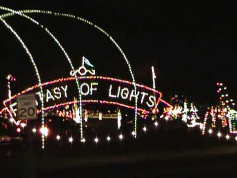 CHRISTMAS LIGHTS VASONA PARK FESTIVAL OF LIGHTS PART 1 - YouTube