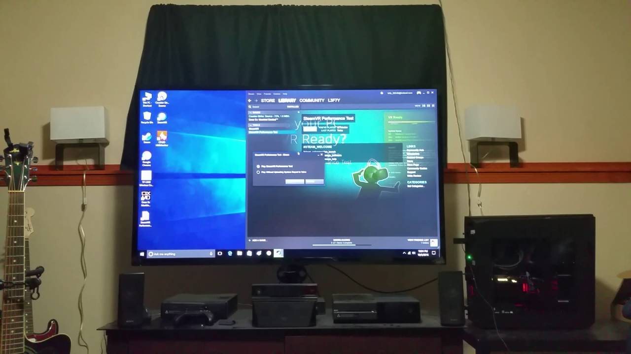 BRAND NEW Radeon RX 480 8gb crashing on steam vr performance test