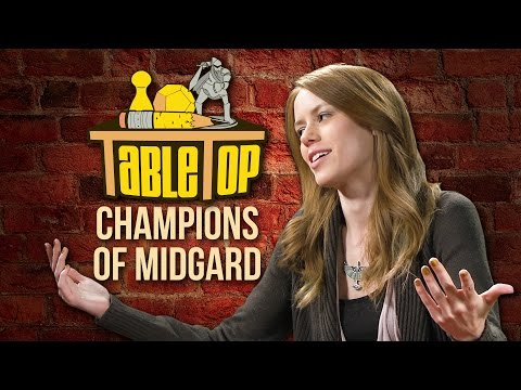 TableTop: Wil Wheaton Plays Champions of Midgard with Chris Kluwe, Alison Haislip, & Marisha Ray!