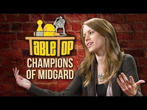 TableTop: Wil Wheaton Plays Champions of Midgard with Chris Kluwe, Alison Haislip, & Marisha Ray!