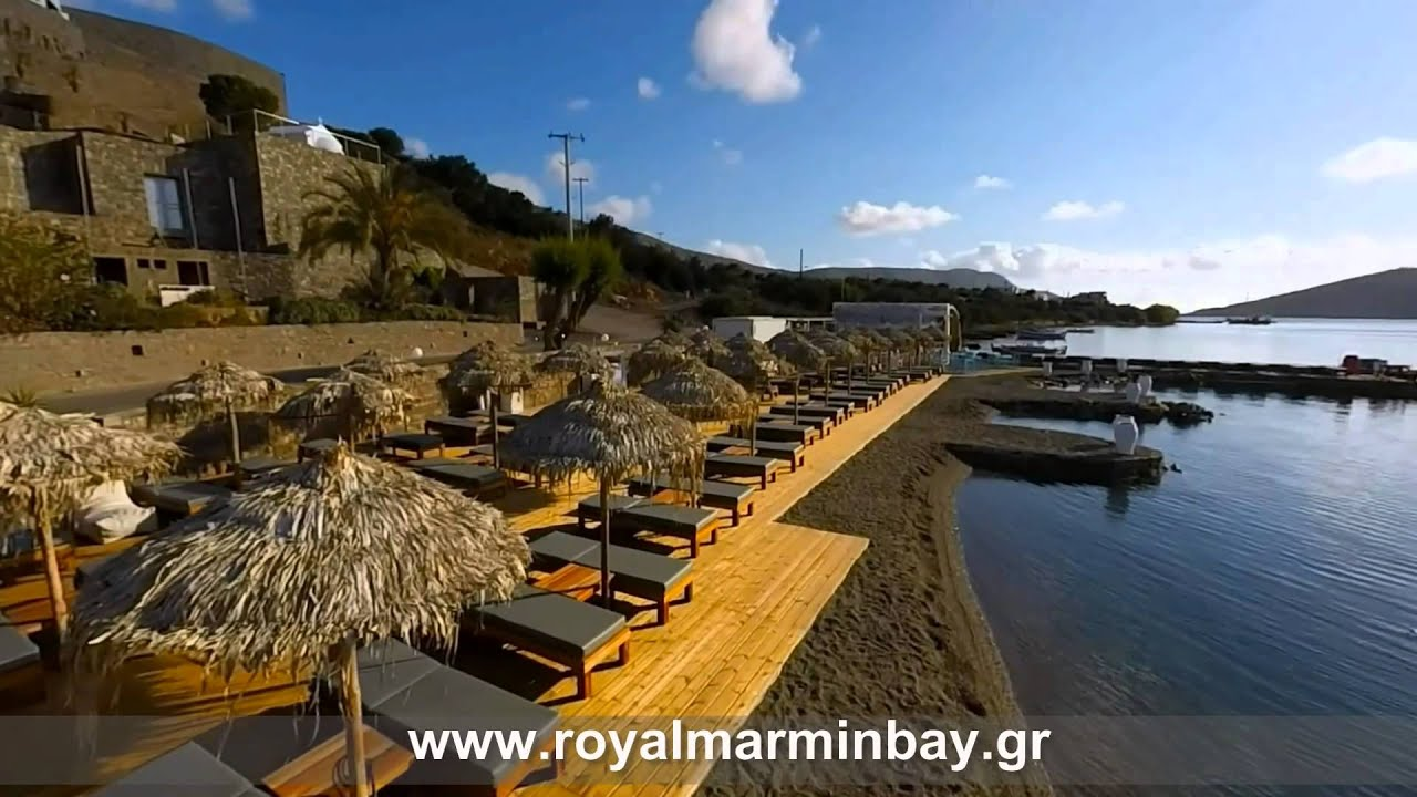 Royal marmin bay boutique art hotel elounda crete for Design boutique hotel kreta
