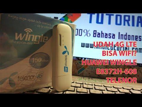 Modem 4G Murah Bisa Wifi Lagi: Huawei E8372h-608 Pakai Powerbank (Unboxing + Setup Sederhana)