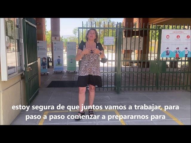 Bienvenida al año escolar 2021 de Pumahue Chicureo