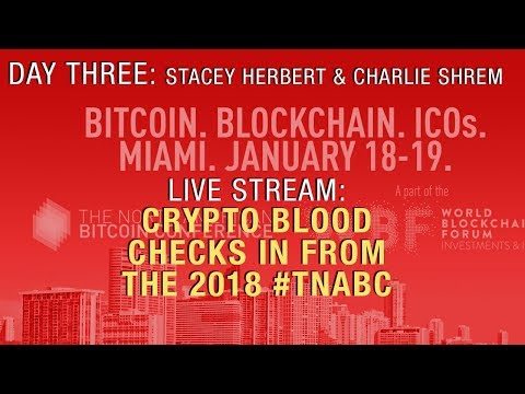 The North American Bitcoin Conference: Charlie Shrem & Stacy Herbert