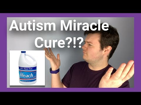 Stop Giving Your Autistic Child Bleach!