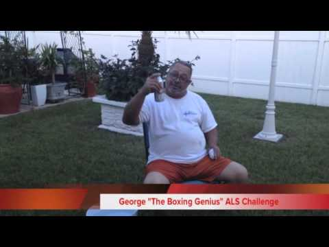 """The Boxing Genius"" ALS Challenge"
